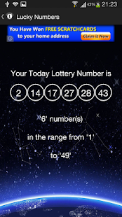 Today Lucky Number - screenshot thumbnail