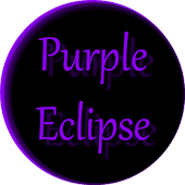 Purple Eclipse Launcher Theme