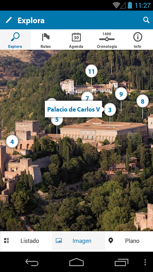 Official Guide La Alhambra - screenshot