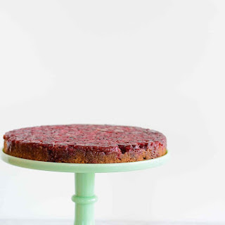 Gluten Free Cranberry Upside Down Cake.