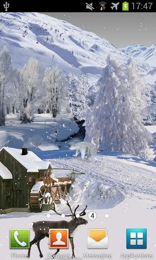 Winter White PRO LiveWallpaper