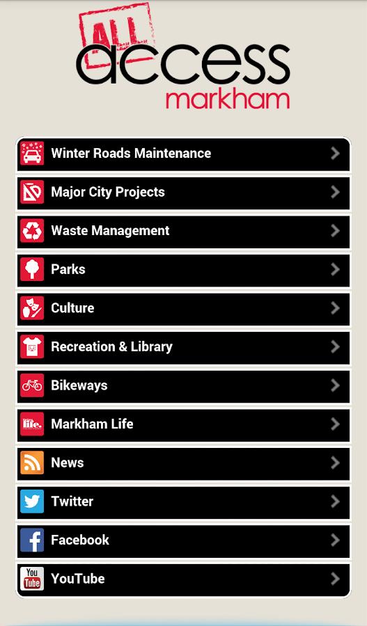 Access Markham - screenshot