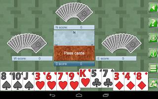 Screenshot of Hearts V+