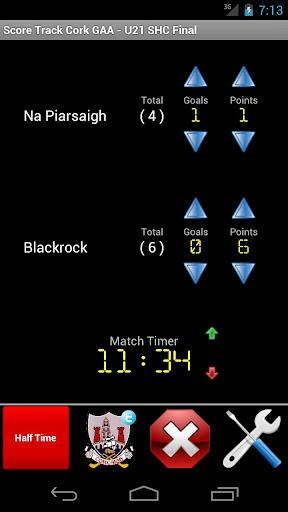 Score Track Cork