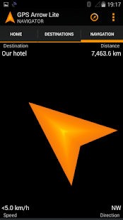 GPS Arrow Navigator LITE- screenshot thumbnail