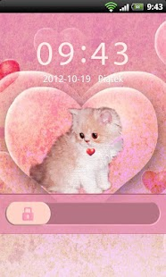 GO Locker Theme Kitty- screenshot thumbnail