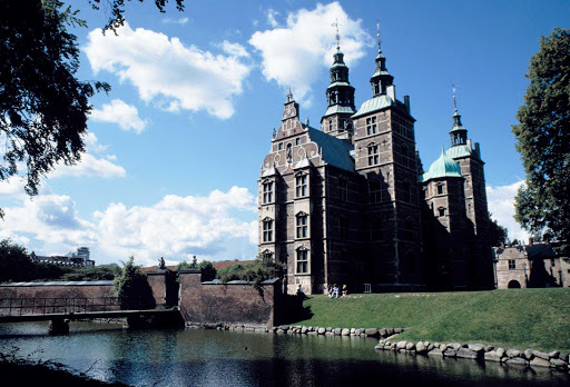 Rosenborg Castle is a Renaissance style castle in Copenhagen that was originally built as a country summerhouse in 1606.