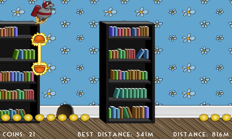 Rocket Mouse- screenshot