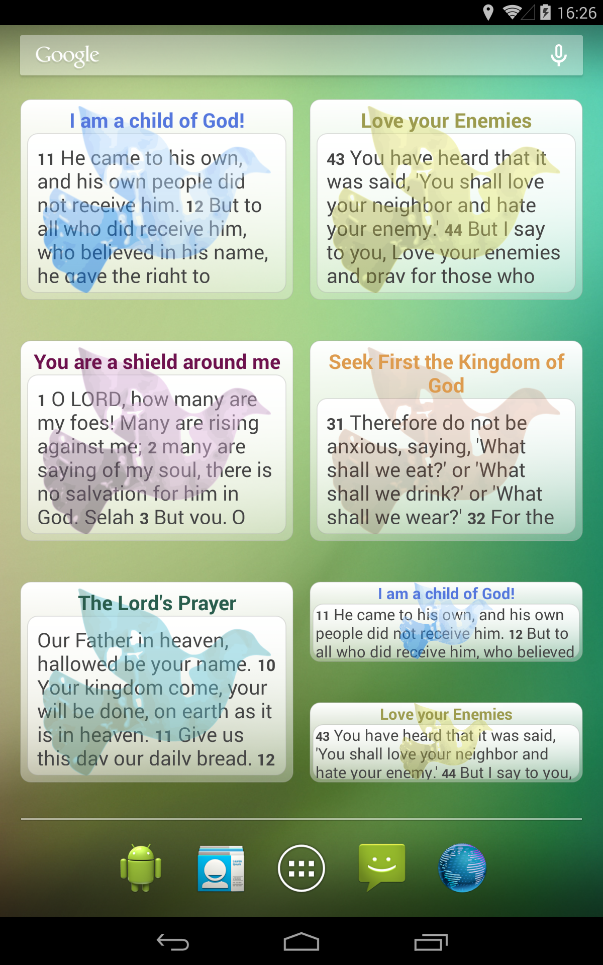 Prayers & Blessings Daily screenshot #9