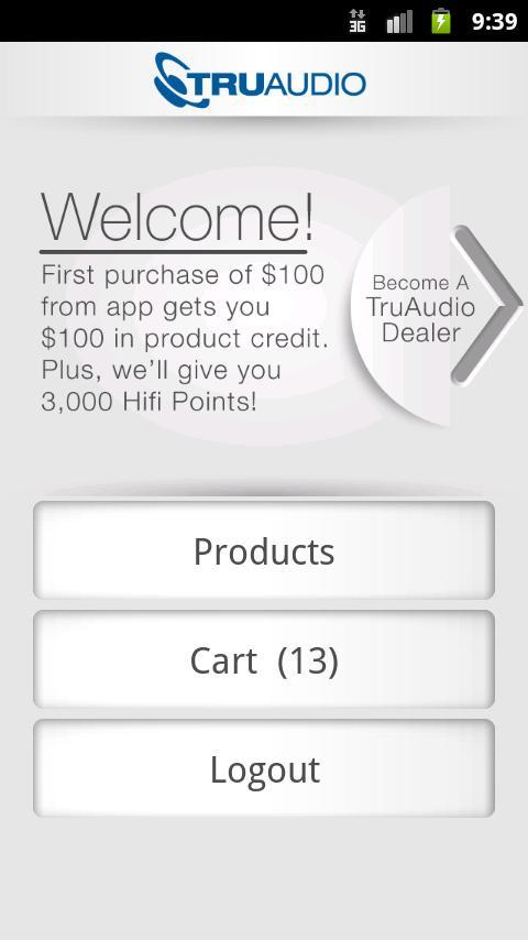 TruAudio- screenshot