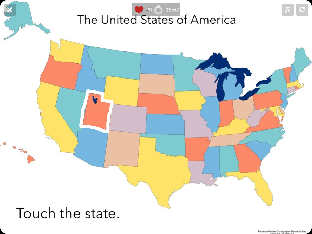 US States Map Quiz States Android Apps On Google Play - Us 50 states maps