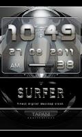 Screenshot of Digital Alarm Clock SURFER