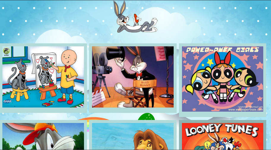 Cartoon Posters For Kids - screenshot