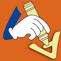 Writing Transport Word icon