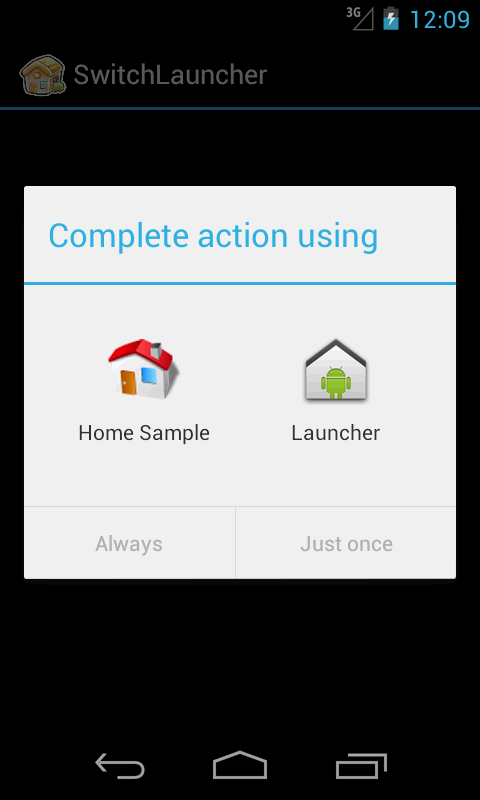 Swich Launcher - screenshot