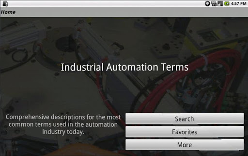 【免費書籍App】Industrial Automation Terms-APP點子
