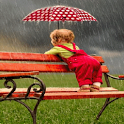 Baby Dance In Rain LWP icon
