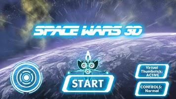 Screenshot of Space Wars 3D