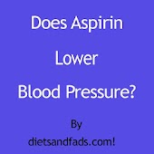 Aspirin Lower Blood Pressure