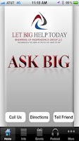 Screenshot of Ask BIG