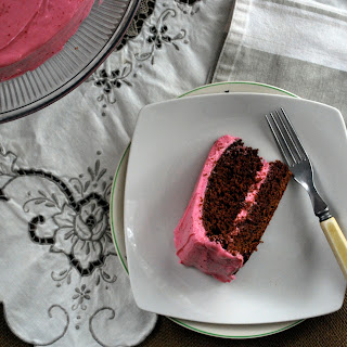 Chocolate Beet Cake with Cream Cheese Beet Frosting