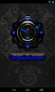 Blue Dragon Clock Widget v1.40