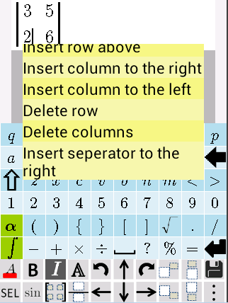 Equation Editor- screenshot