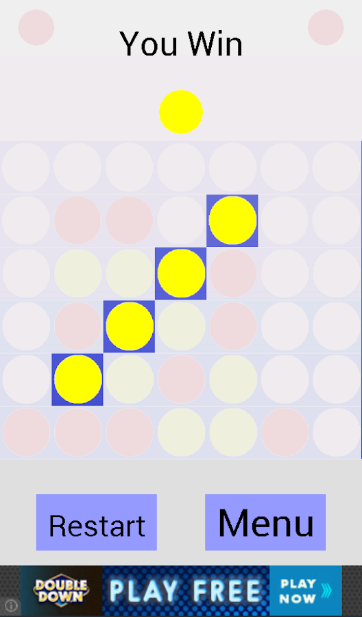 Connect Four- screenshot