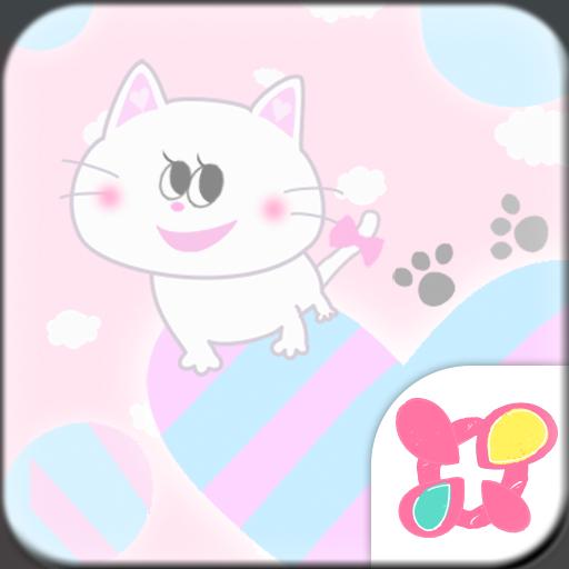 Cute Theme Fluffy Love Icon