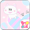Cute Theme Fluffy Love icon
