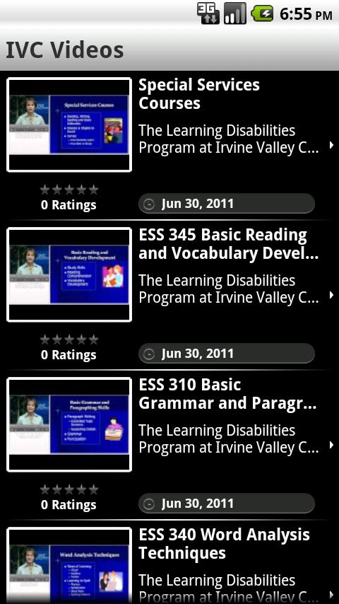 IVC Mobile- screenshot