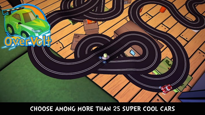 OverVolt: crazy slot cars - screenshot