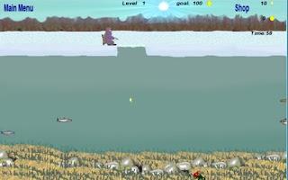 Screenshot of Ice Fishing Arcade