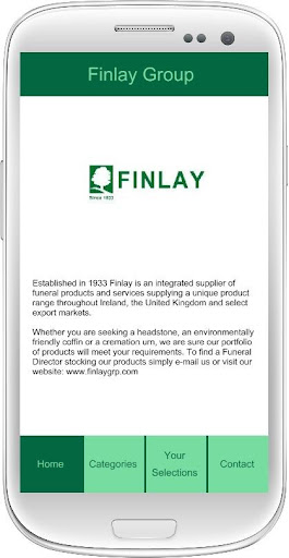 Finlay Group Product App