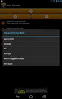 Screenshot of Voice Shortcuts Launcher