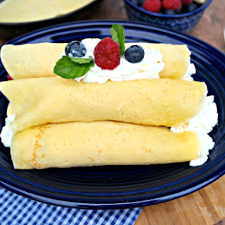 Low Calorie Crepes Recipes.