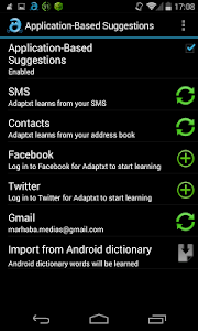 Adaptxt Keyboard v3.0