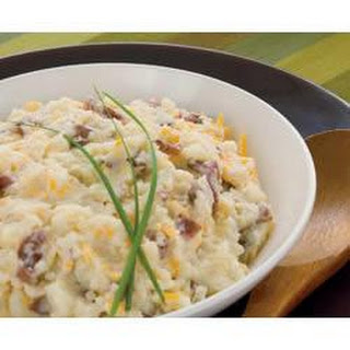 Healthy Living Cheesy Smashed Potatoes