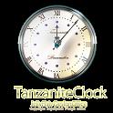 12月誕生石タンザナイト【アナログ時計ウィジェット】 icon