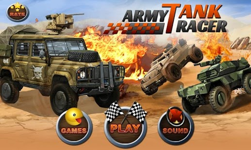 Army Tank Racer- screenshot thumbnail