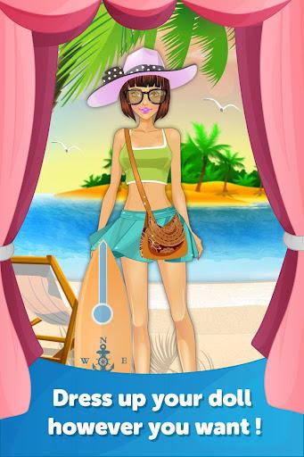 Beach Fun Dress Up Makeover