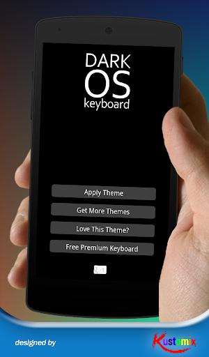 Dark Elegant Keyboard Theme