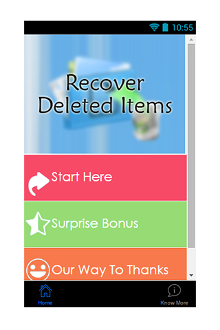 Recover Deleted Items Guide