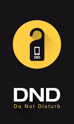 DND Do Not Disturb