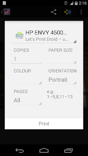 Let's Print Droid- screenshot thumbnail