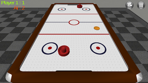 Air Hockey 3D Real