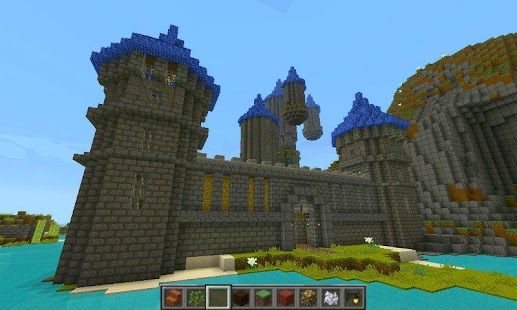 Castle Ideas - Minecraft- screenshot