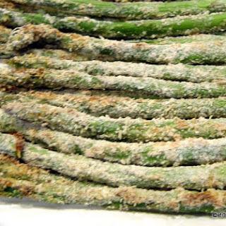 Oven Baked Parmesan Asparagus