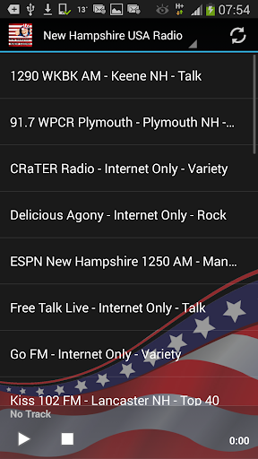 New Hampshire USA Radio