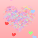 Lovely Heart Live Wallpaper